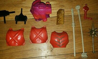$20 • Buy Lot 1980's He-Man Master Of The Universe MOTU Weapons Staff Sheild Accessories