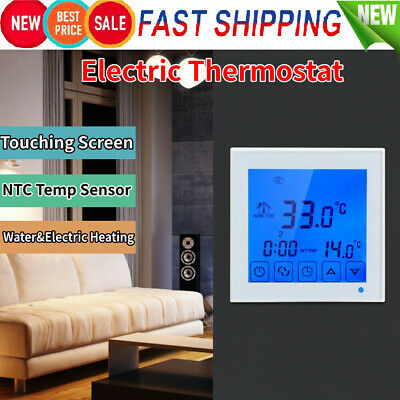 AU23.99 • Buy Electric Floor Heating Thermostat Digital Controller Thermoregulator 200~240V AU