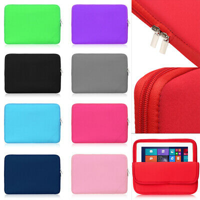 AU11.31 • Buy Tablet Case Sleeve Bag Cover Pouch Soft For Apple IPad Mini Air Pro 7.9 ~12.9 !