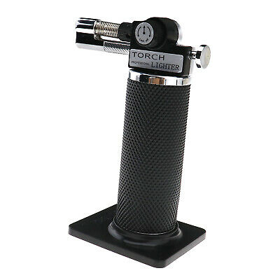 Inflatable Gas Micro Torch Craft Mini Butane Compact Refillable Kitchen BBQ Tool • 13.87£