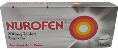 Nurofen Targeted Pain Relief 200mg Rapid Pain Relief Tablets - 12 • 4.99£