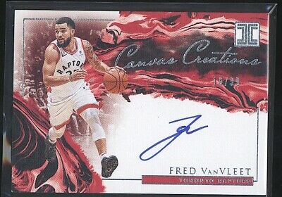 $ CDN6.34 • Buy 2019-20 Impeccable FRED VANVLEET Canvas Creations Auto /99 Raptors