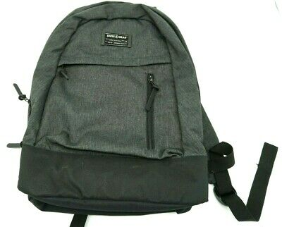 Swiss Gear Day Pack Backpack Gray Black New With Tag • 32.18£