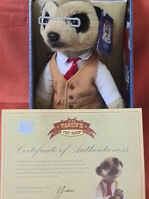£8.50 • Buy Compare The Meerkat Toy Yakov New In Box