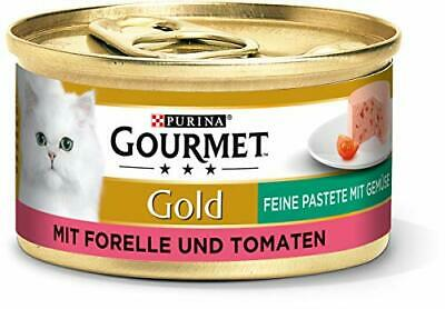 Purina GOURMET Gold Fine Pate, High-quality Cat Wet Food, Pet Food, With • 11.99£