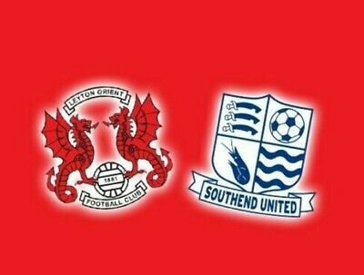 2020/21 Leyton Orient V Southend United 29/12/20 • 3.29£