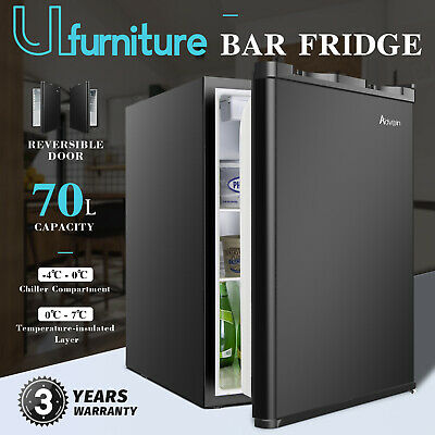 AU185.90 • Buy 73L Mini Fridge Freezer Portable Beer Beverage Cool Home Commercial Refrigerator
