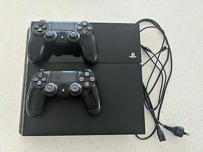 AU274 • Buy Playstation 4 PS4 Console 500 GB + 2 Games + 2 DVD MOVIES + EXPRESS POST
