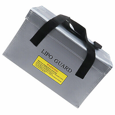 Waterproof RC Lipo Battery Guard Safe Bag Charge Storage Protection Sack Silver • 13.67£
