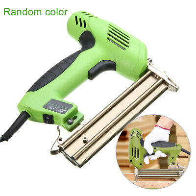 1800W Electric Straight Nail Gun 10-30mm Special Use 30/min Woodworking UK • 50.19£