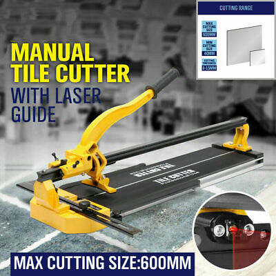 High Manual Tile Cutter Cutting Machine  600mm Tiles Ceramic Cutting Hand Tool • 67.44£