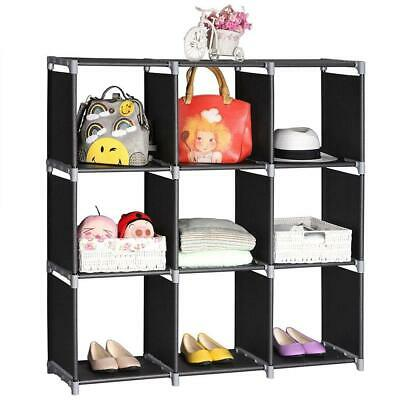 £11.99 • Buy 9 Cube Bookcase Shelving Unit Display Storage Shelf Home Office