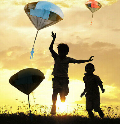 Parachute Throwing Kids Hand Outdoor Children's Educational Toys Mini Toy Play • 2.99£