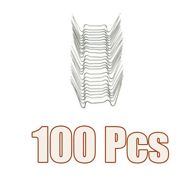 100Pcs W Type Wire Glazing Clips Stainless Steel Accessories For Greenhouse • 7.19£