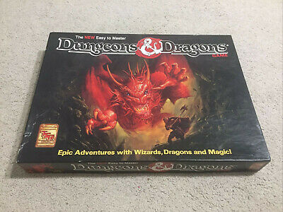 AU99.95 • Buy Dungeons & Dragons Easy To Master Board Game Vintage 1991 TSR Rare Retro