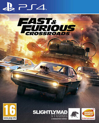 £17.95 • Buy Fast & Furious Crossroads (PS4) NEW AND SEALED - IN - STOCK - QUICK DISPATCH