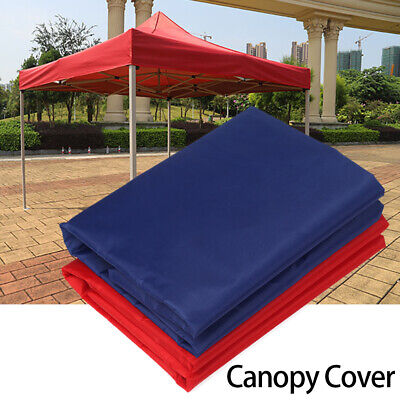 Garden Parasol Sun Umbrella Surface Canopy Cover Replacement Gazebo Top Roof • 32.94£