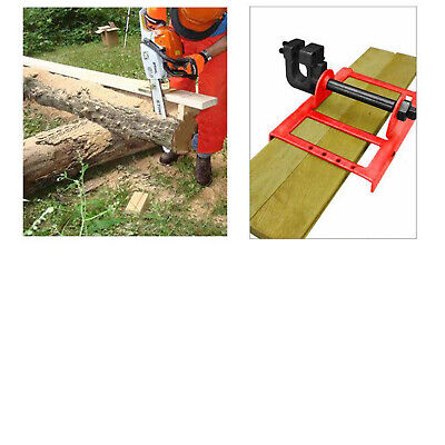 £36.75 • Buy Chainsaw Mill Mini Vertical Lumber Cutting Guide Milling Tool For Workers