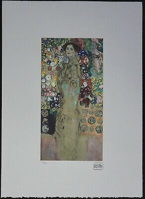 $ CDN178.51 • Buy Gustav Klimt 'Portrait Of Maria Munk' 50 X 70 Cm Signed Limited Lithograph
