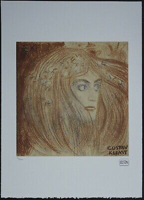$ CDN148.51 • Buy Gustav Klimt 'Hexe' 50 X 70 Cm Signed Limited Lithograph