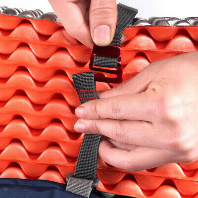 1.5m Strapping Cord Tape Nylon Rope Belt With Quick Release Metal Hook For • 3.77£