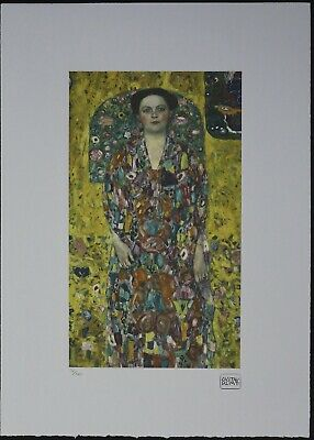 $ CDN178.51 • Buy Gustav Klimt 'Portrait Eugenia Primavesi' 50 X 70 Cm Signed Limited Lithograph