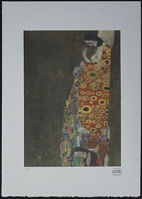 $ CDN178.51 • Buy Gustav Klimt 'Hope II' 50 X 70 Cm Signed Limited Lithograph