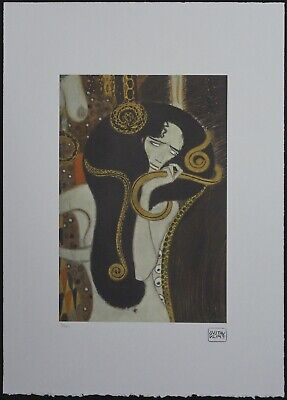 $ CDN178.51 • Buy Gustav Klimt 'Beethoven Frieze' 50 X 70 Cm Signed Limited Lithograph
