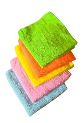 £3.75 • Buy Microfibre Dish Kitchen Cleaning Cloths Tea Towels Cloth Pack Absorbent Pk4/pk5