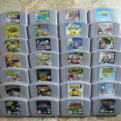 $ CDN60.73 • Buy Nintendo 64 N64 Games ✨BUY MORE & SAVE✨ Authentic USA Clean Tested Lot ✨ Rares!