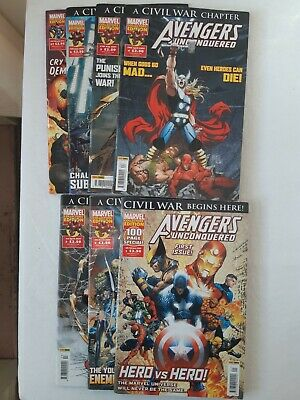 £18 • Buy Avengers Unconquered Comic Books 7 Marvel Comics 087 Issue's 1,2,3,4,5,6,27