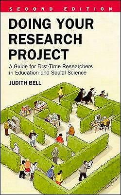 £2.19 • Buy Doing Your Research Project: A Guide For First-time Researchers In Education And
