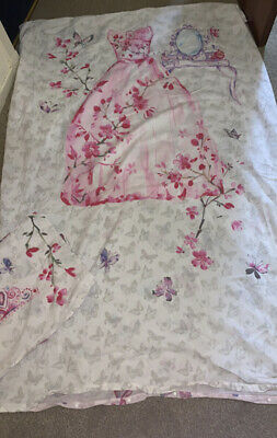 £10 • Buy Girls Single Bedding Set Butterfly Very Good Condition