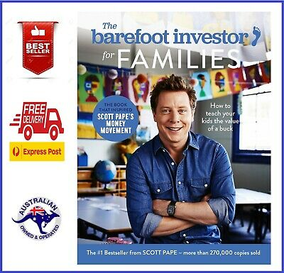 AU34.95 • Buy The Barefoot Investor For Families:|How To Teach Your Kids The Value Of A Buck|