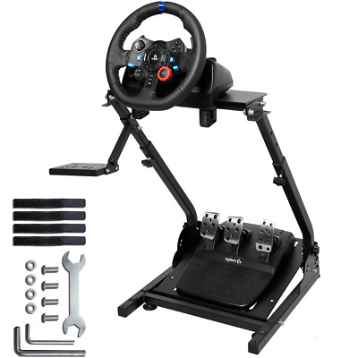 Racing Simulator Steering Wheel Stand For LogitechG29G920 Thrustmaster PS4 Xbox • 62.99£