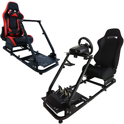 Racing Simulator Cockpit Steering Wheel Stand For Logitech G29 G920 Thrustmaster • 235.99£