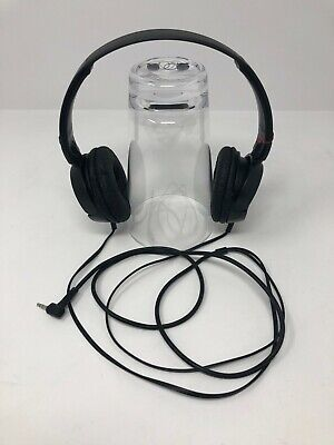 £7.61 • Buy Sony MDR-ZX100 ZX Series Studio Stereo Headphones Black Wired 3.5mm Jack Tested