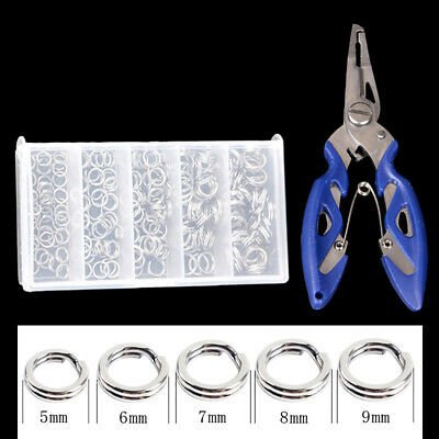 AU10.39 • Buy Fishing Pliers Snips Scissors Line Cutter Trace Split Ring Tool Remover