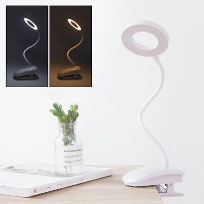 AU12.99 • Buy Touch LED Reading Desk Lamp Bedside Table Study USB Rechargeable Night Light