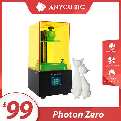 ANYCUBIC PHOTON Photocuring 3D Printer Ultra Precision Off-line Print UV Resin • 169£