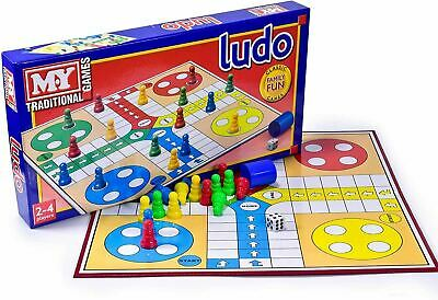 £6.69 • Buy Classic Family Kids Ludo Traditional Board Game Fun Play Set