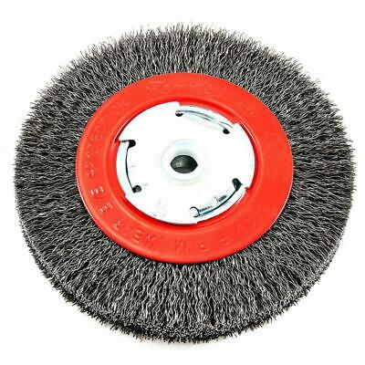 $ CDN21.18 • Buy Forney 72752 Bench Grinder Wire Wheel Brush Crimped Wide 6 Inch Arbor 1/2-5/8