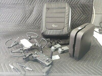 AU387.48 • Buy DJI Spark Quadcopter Fly More Combo W/ 3 Batteries And LowePro Bag Included