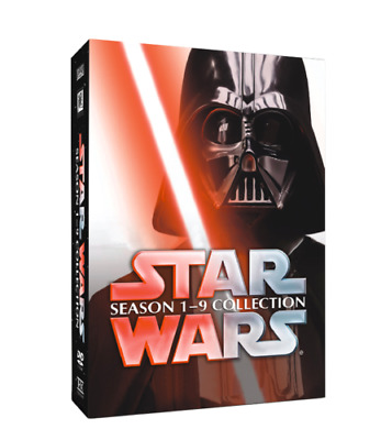 £27.61 • Buy Star Wars : The Complete Movie Series Seasons 1-9 Collection ( DVD Box Set ) NEW