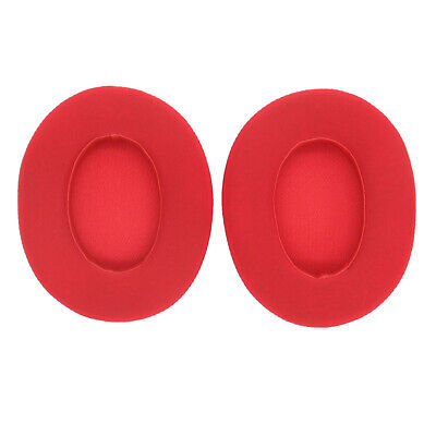 1 Pair Replacement Gel Ear Cushions For Beats By Dr Dre Studio 2.0 (Red) • 7.48£
