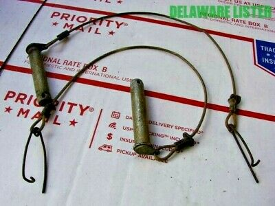 $24.95 • Buy *US Military Army Truck Jeep M151 M37 M38 Orig. Shackle? Pins W/cable & Retainer