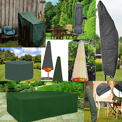 £6.89 • Buy Waterproof Garden Furniture Covers Outdoor Patio Table Chairs Parasol Cover