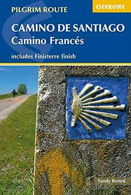 £13.94 • Buy Camino De Santiago: Camino Frances: Guide And Map Book - Includes Finisterre Fin