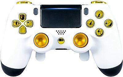 AU169.64 • Buy White Elite Paddle Custom Modded Controller Ps4 Playstation 4 Mod Rapid Fire