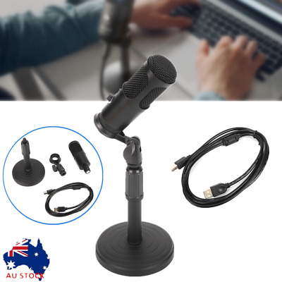 AU20.53 • Buy USB Microphone PC Condenser Microphone Vocal Recording Studio Video Game Podcast